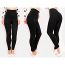 4344 Leggins Bamboo, Plus Size, High Waist