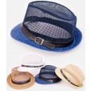 Großhandel Fashion & Accessoires: B10A64 Bequeme durchbrochene Mütze, luftiges Mesh