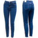 Damen Jeans, 34-44, Hohe Taille, B16894