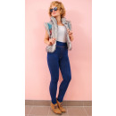 4347 Leggings Jeans, Plus Size, Bambus, leichte Nä