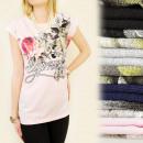 ingrosso Ingrosso Abbigliamento & Accessori: K327 COTONE  CAMICIA, TOP, FIORI HYPNOTIC