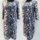 Großhandel Kleider: D4046 Kleid, Made in Poland, Plus Size 44-52