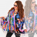 groothandel Kleding & Fashion: O12 Dubbelzijdige Sjaalsjaal, fantastische vlinder