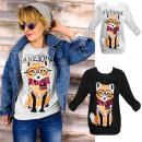 Großhandel Pullover & Sweatshirts: K498 schöne Frauen Sweatshirt, Bluse, sei genial