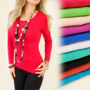 wholesale Shirts & Tops: K269 CLASSIC,  UNIVERSAL TOP, cotton, COLORS