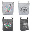 Großhandel Handtaschen: Damen Handtasche, Umhängetasche, Folk Theme, A1871