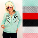 wholesale Pullover & Sweatshirts: N074 Women Hoodie, Quilted Sweatshirt, Hero