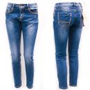 Großhandel Jeanswear: Damen Jeans, 25-30, gerades Bein, B16893