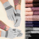 wholesale Gloves: C17453 Soft Women Gloves with Fluff, Wool