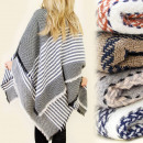 wholesale Scarves & Shawls: FL309 WARM, LARGE SCARF - COVER, Herringbone