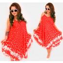 Großhandel Kleider: C17714 Frauenkleid, V-Ausschnitt, ...