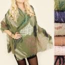ingrosso Ingrosso Abbigliamento & Accessori: FL578 Sciarpa  Bella, Scialle, Pattern Cuore