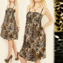 wholesale Fashion & Mode: C1760 lovely  DRESS, ANIMAL PATTERN, LEOPARD