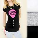 ingrosso Ingrosso Abbigliamento & Accessori: C11187 della  camicetta top  stampa non si ...