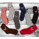 Großhandel Strümpfe & Socken: SOF09 Damensocken, Angora, Rentier, 35-38