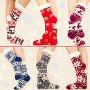 4201 Fur Long Socks, Slippers, Various Patterns