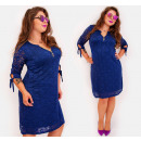 Großhandel Kleider: BI781 Spitzenkleid in Herbstfarben