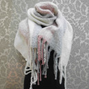 wholesale Cushions & Blankets: A1810 Large Scarf - blancket , Fluffy Plaid XXL