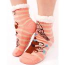 4369 Fur Socks, ABS Slippers, Circus Fun