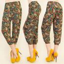 Großhandel Hosen: C1719 LOOSE PANTS 3/4 , RETRO SHORTS, HAREMS