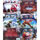 nagyker Ágyneműk és matracok: Ágynemű szett, karácsony, 160x200, 4 darab, ...