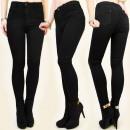 wholesale Jeanswear: B16443 PUSH-UP  PANTS, JEANS, SLIMMING FIT