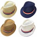 nagyker Ruha és kiegészítők: Nyári strand kalap, sapka, szalaggal, A18104