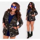 BI689 Nyári női kabát, pamut, kabát, túlméretezett