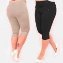 wholesale Fashion & Apparel: C17625 Pants, Plus Size, Length 3/4, Colors