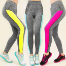 3907 Leggings,  Hosen FITNESS, Schieber MIX