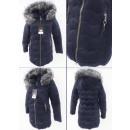 wholesale Coats & Jackets: E15 Winter Jacket, Aztec Quilting, Navy Blue