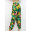 Großhandel Hosen:Grüne Hose in Blumen