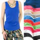 wholesale Fashion & Apparel: Women's Summer Shirt, Straps, M-2XL, 5605