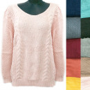 wholesale Pullover & Sweatshirts: Classic Loose Sweater For Women, V-neck, R130