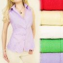wholesale Shirts & Blouses: ROMANTIC SHIRT, BLOUSE, OPENWORK FLOWERS