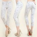 ingrosso Jeans: B16480 PANTALONI  3/4 , jeans, linea SLIM, pastello