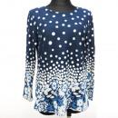 Großhandel Fashion & Accessoires: Bluse, Große Größe, Muster, L-4 XL, K2728
