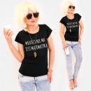 Großhandel Shirts & Tops: R75 Comfortable Women Top, Baumwolle, Schwarz ...