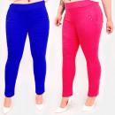 wholesale Fashion & Apparel: C17636 Women Colorful Pants, Large Size