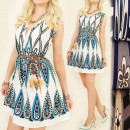 C1799 LIGHT DRESS, TUNIKA, BOHO, PENS