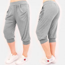wholesale Sports Clothing: 4596 Summer Sweatpants, Women Shorts, Gray