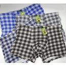 4837 Bamboo Boxer Shorts Men, L-3XL, Checkered