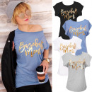 Großhandel Fashion & Accessoires: K479 Cotton Bluse, Hemd Frauen, Goldene WoW