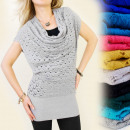 Großhandel Fashion & Accessoires: 3984 SWEATER,  TUNIKA  durchbrochenen ...