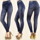 Großhandel Jeanswear: FL420 schicke  Leggings Jeans, FACTORY PATTERNS