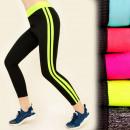 Pantalon fitness FL489 classique, Inserts Neon