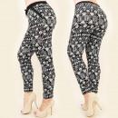 Großhandel Hosen: C17196 Loose Hose, Plus Size, charmantes Muster