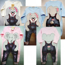 grossiste Fournitures scolaires: D375 Puppet bébé, éléphant, 74-80