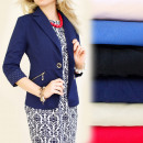 wholesale Coats & Jackets: BI115 ELEGANT,  waist jacket, cuffs, MIX