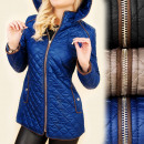 4168 Impressive, Quilted Jacket, Hood, Autumn